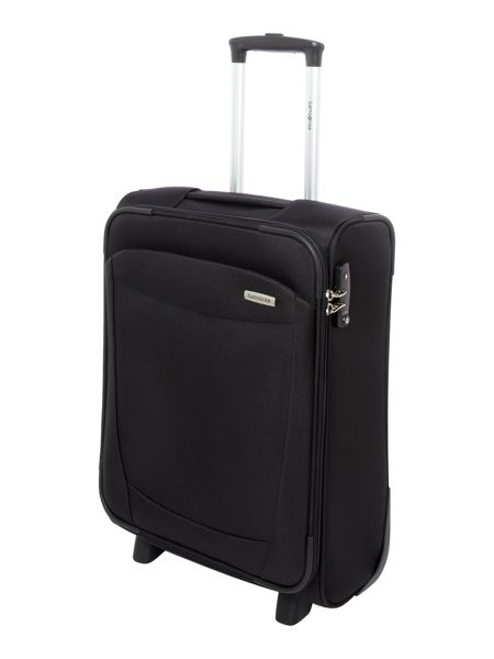 Samsonite Antelao black 2 wheel soft cabin spinner