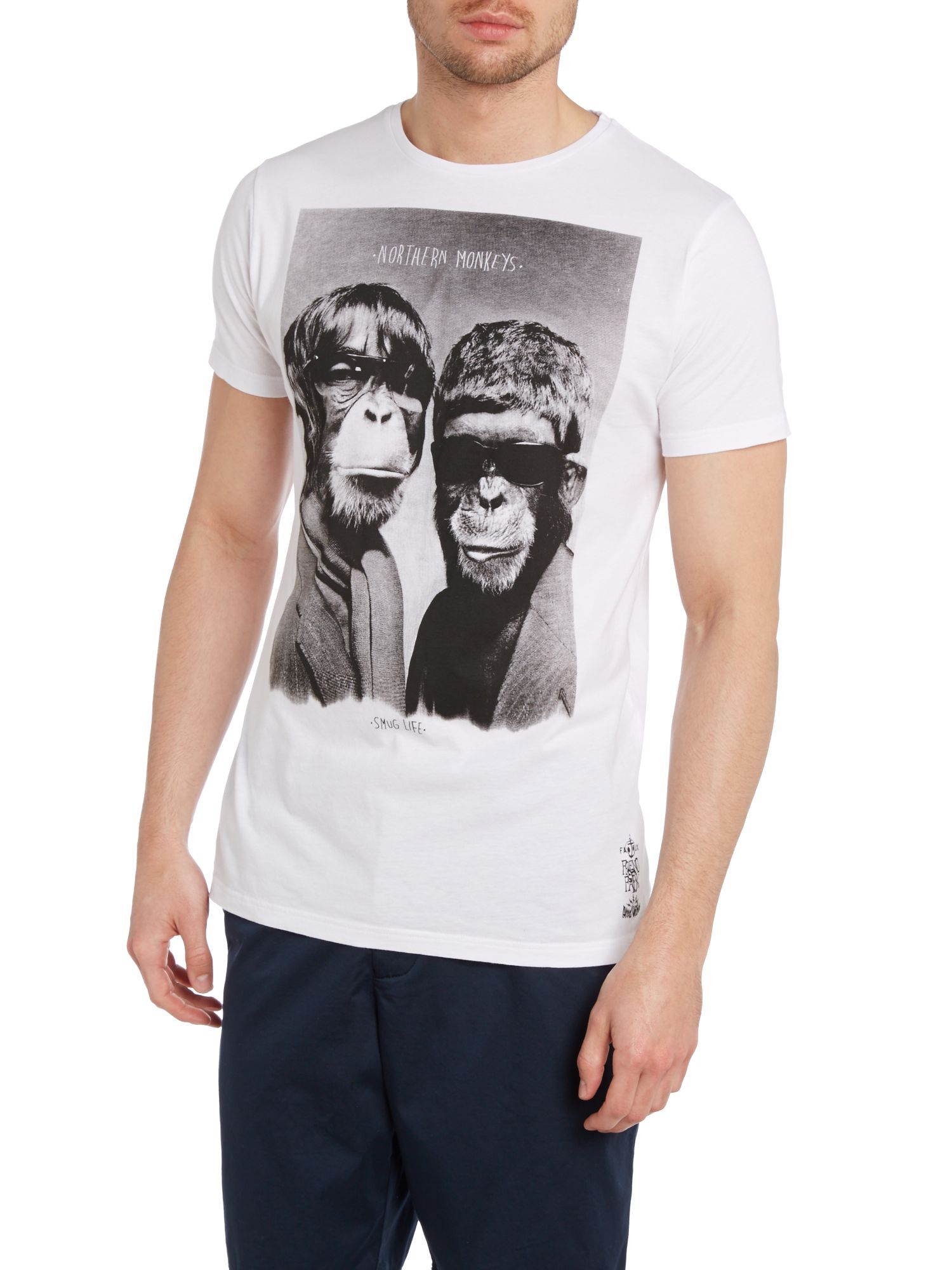 Northern monkeys print t shirt