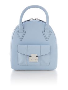 Matthew Williamson Moon blue small dome bag