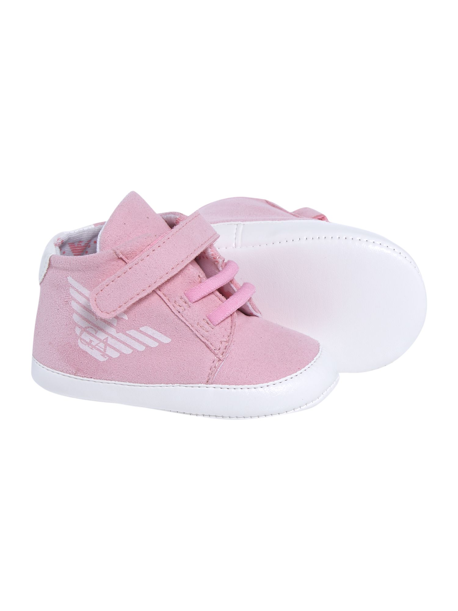 Babys high top trainer shoe