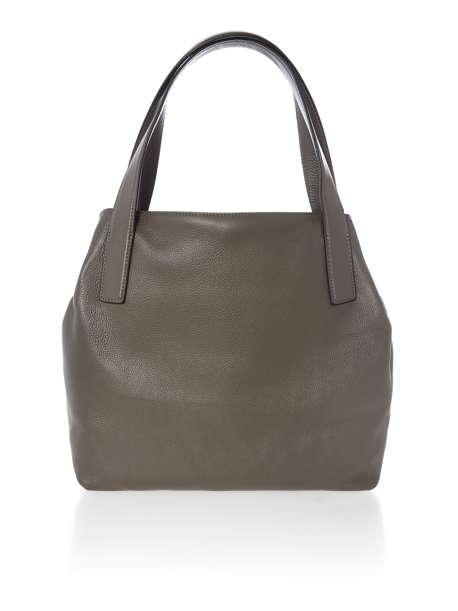 Taupe small hobo bag