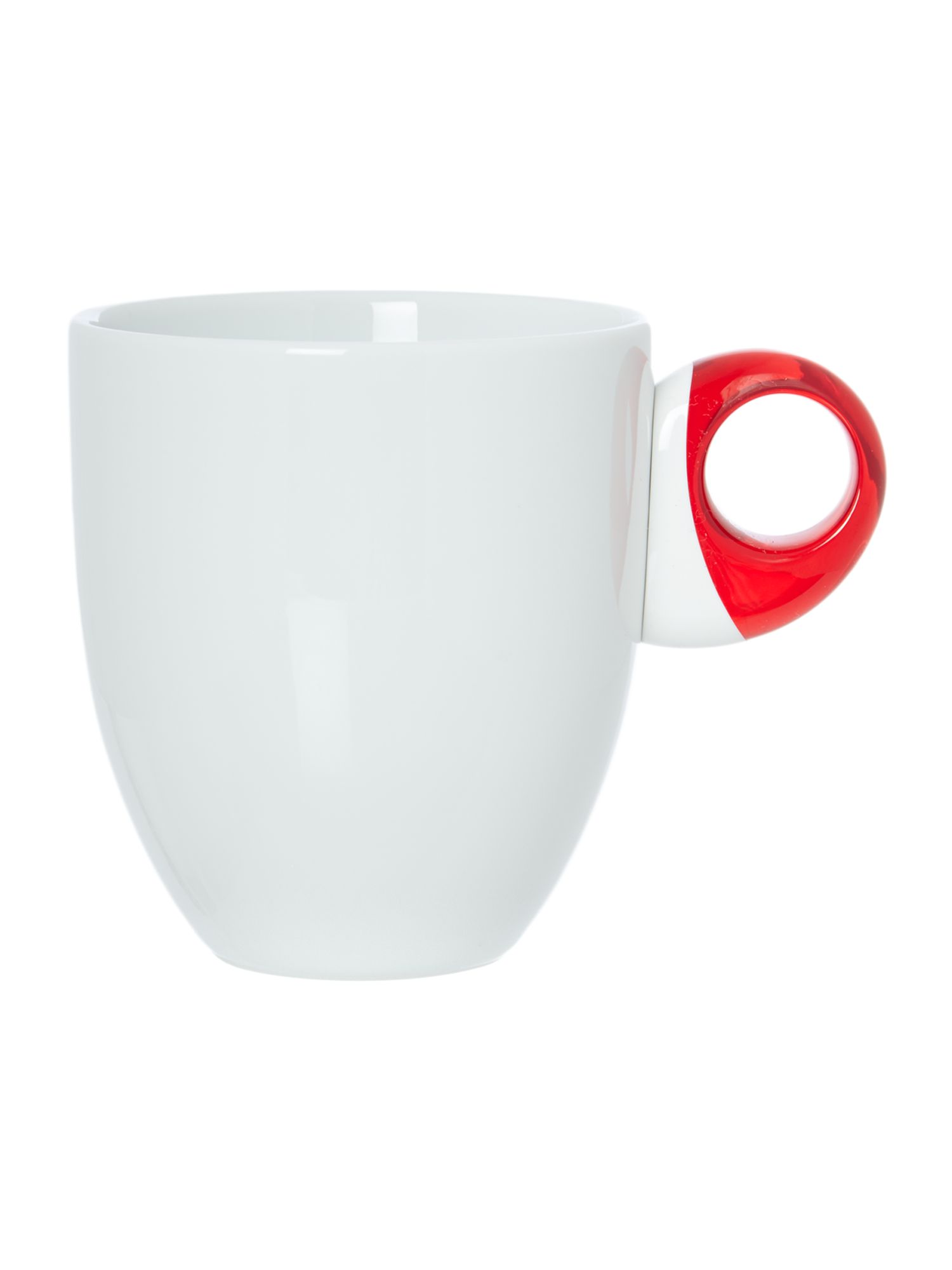 Mug Feeling Transparent Red