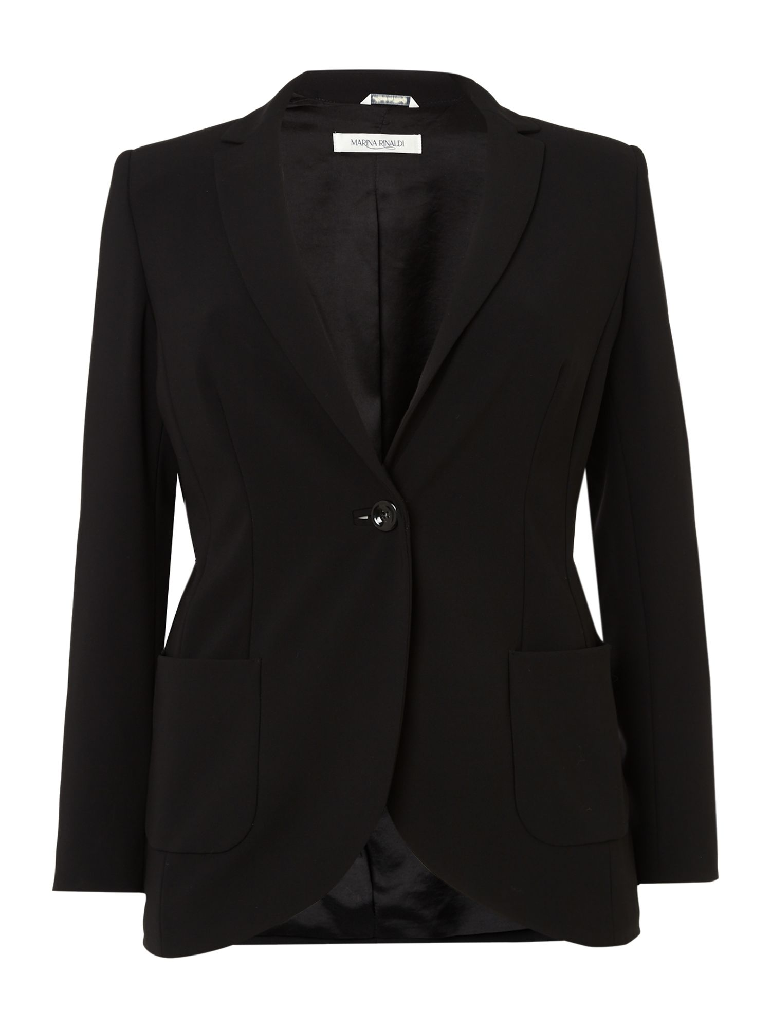 Cielo long sleeved one button blazer