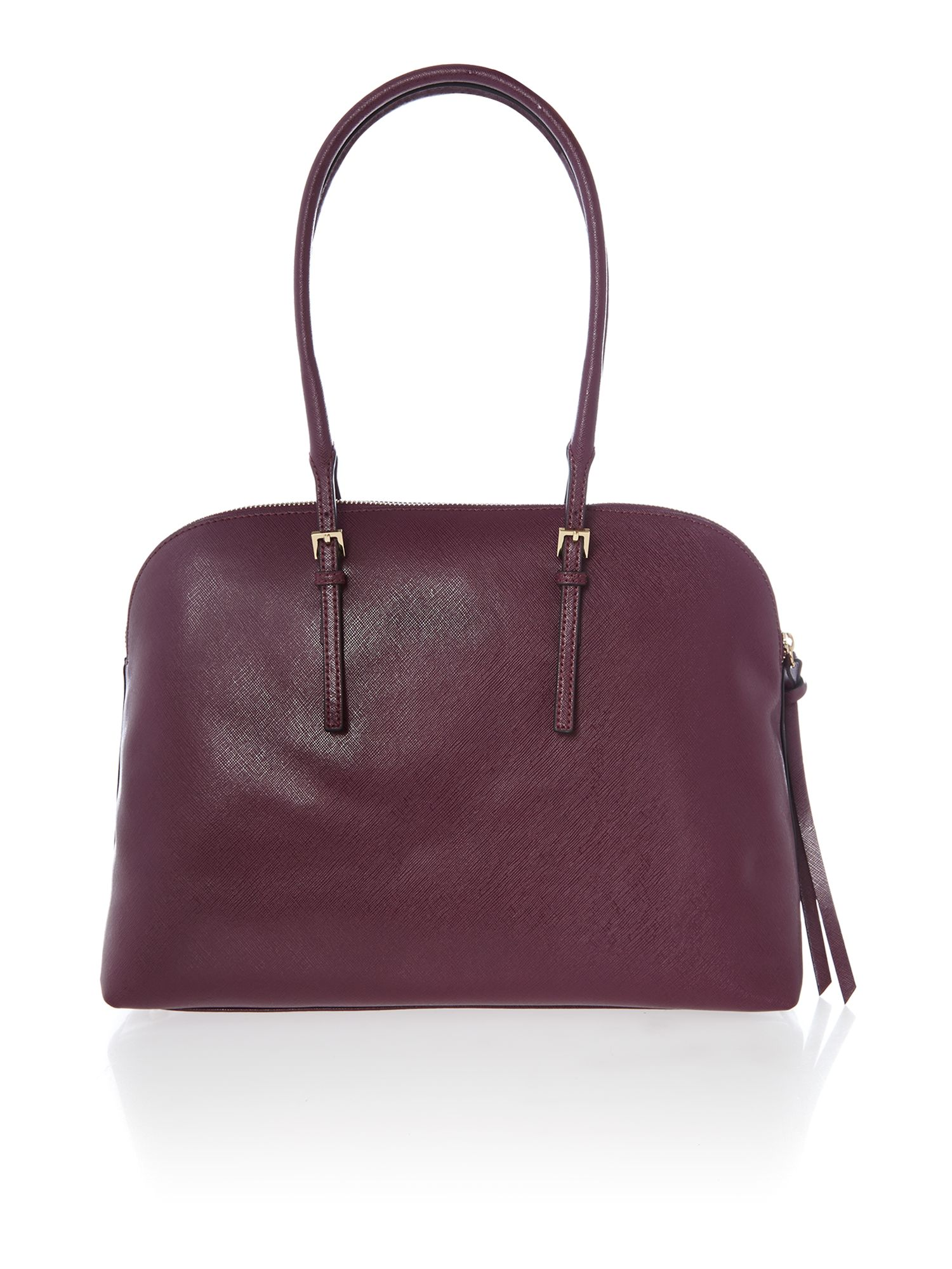 Purple dome bag