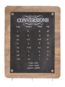 Linea Conversion chart