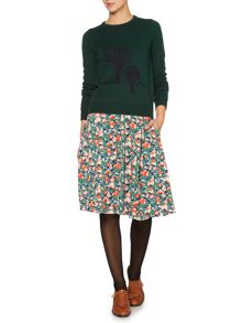 Dickins & Jones Winter berry skirt