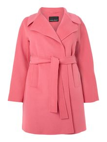 Nuovo belted wool coat