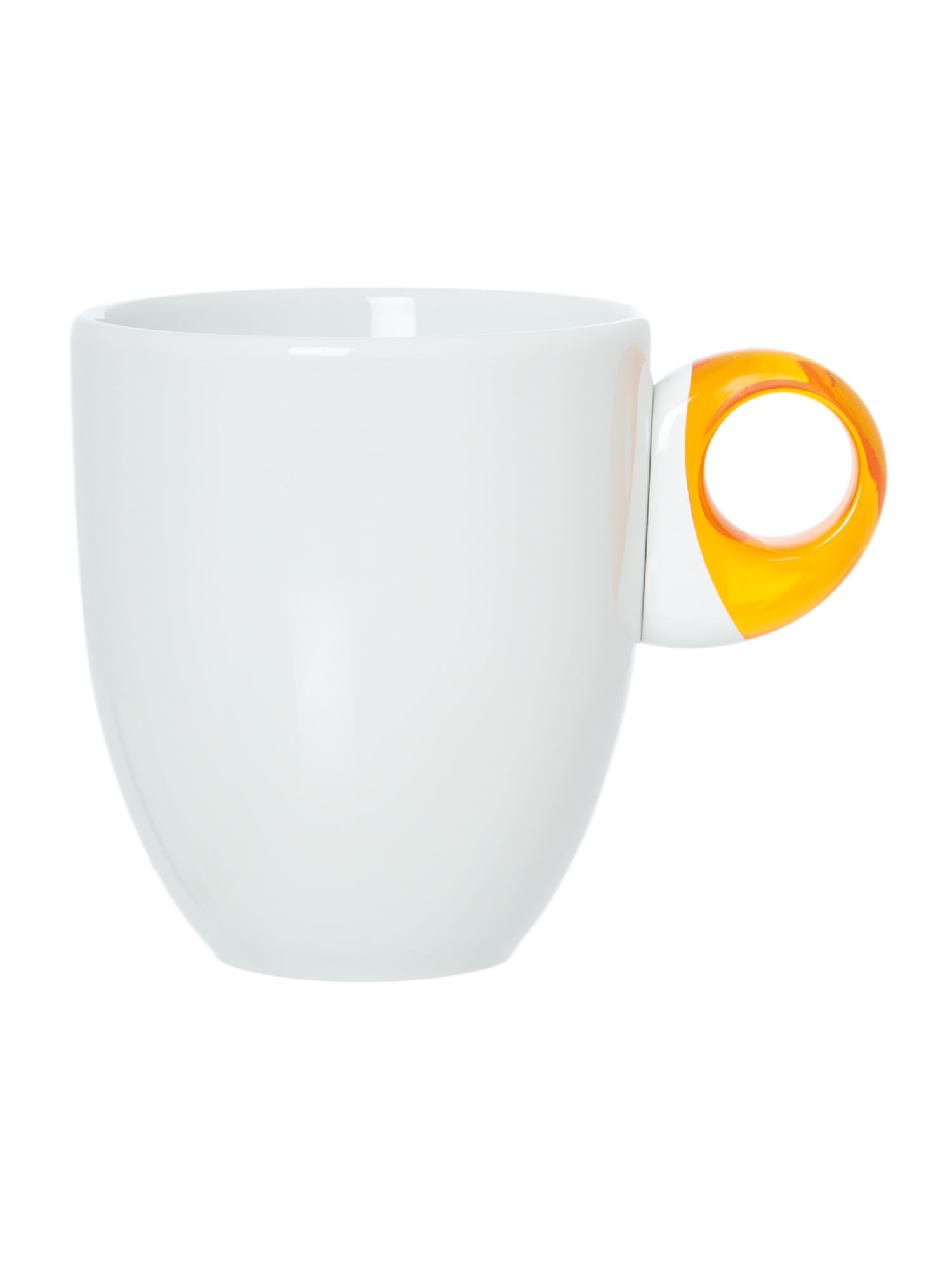 Mug Feeling Transparent Orange