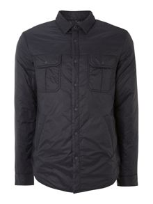 Padded shirt jacket