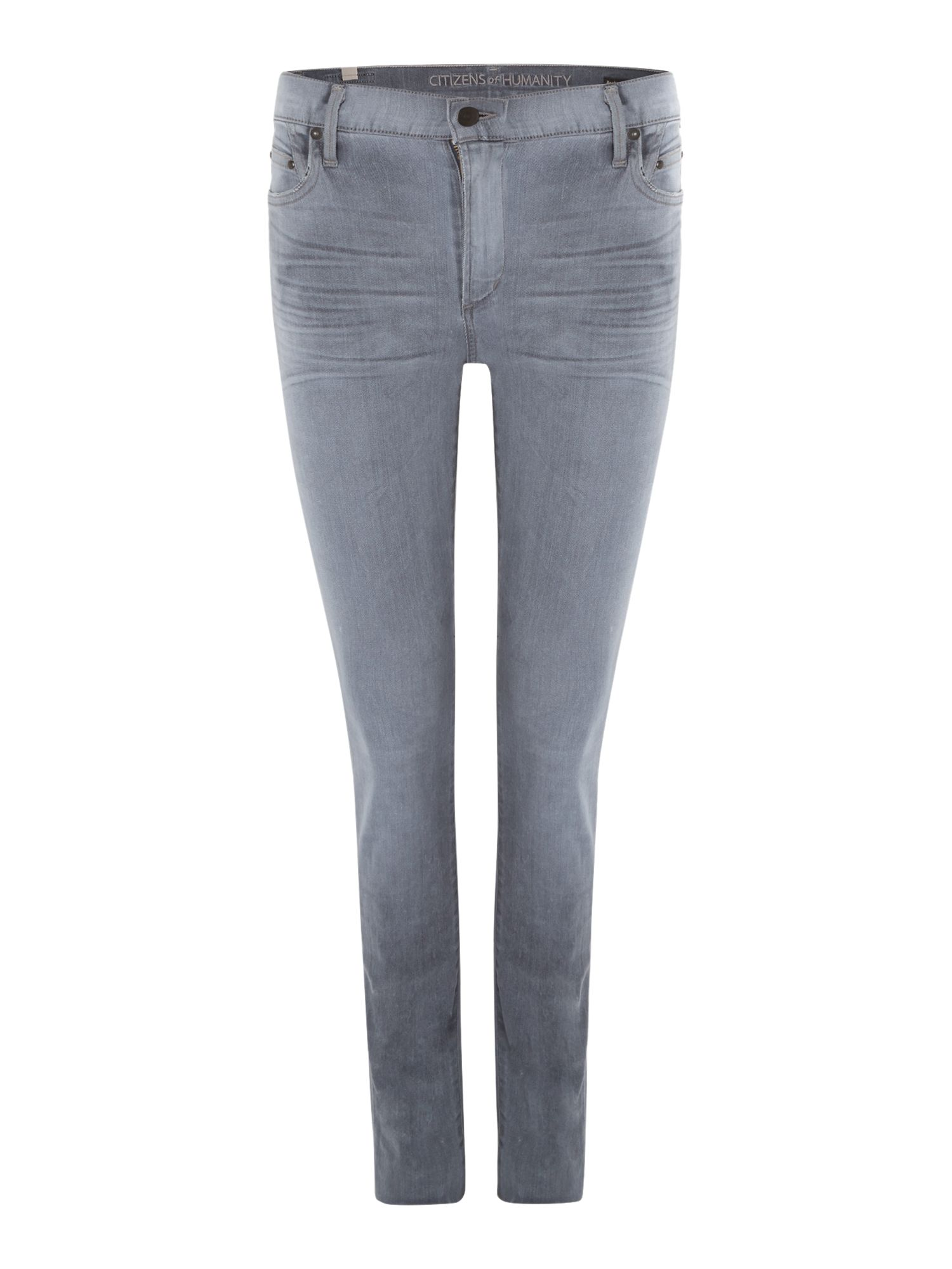 Rocket high rise skinny jeans in chromatic