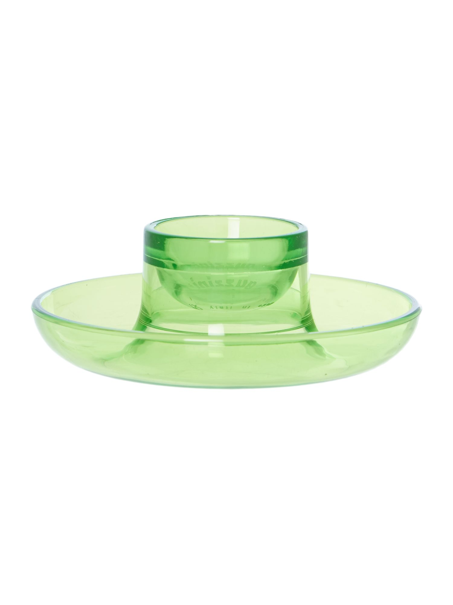 Egg Cup Happy Hour Green