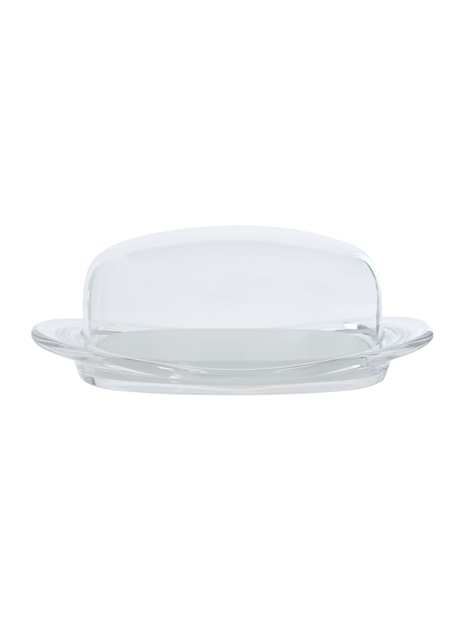 Butter Dish Felling Clear