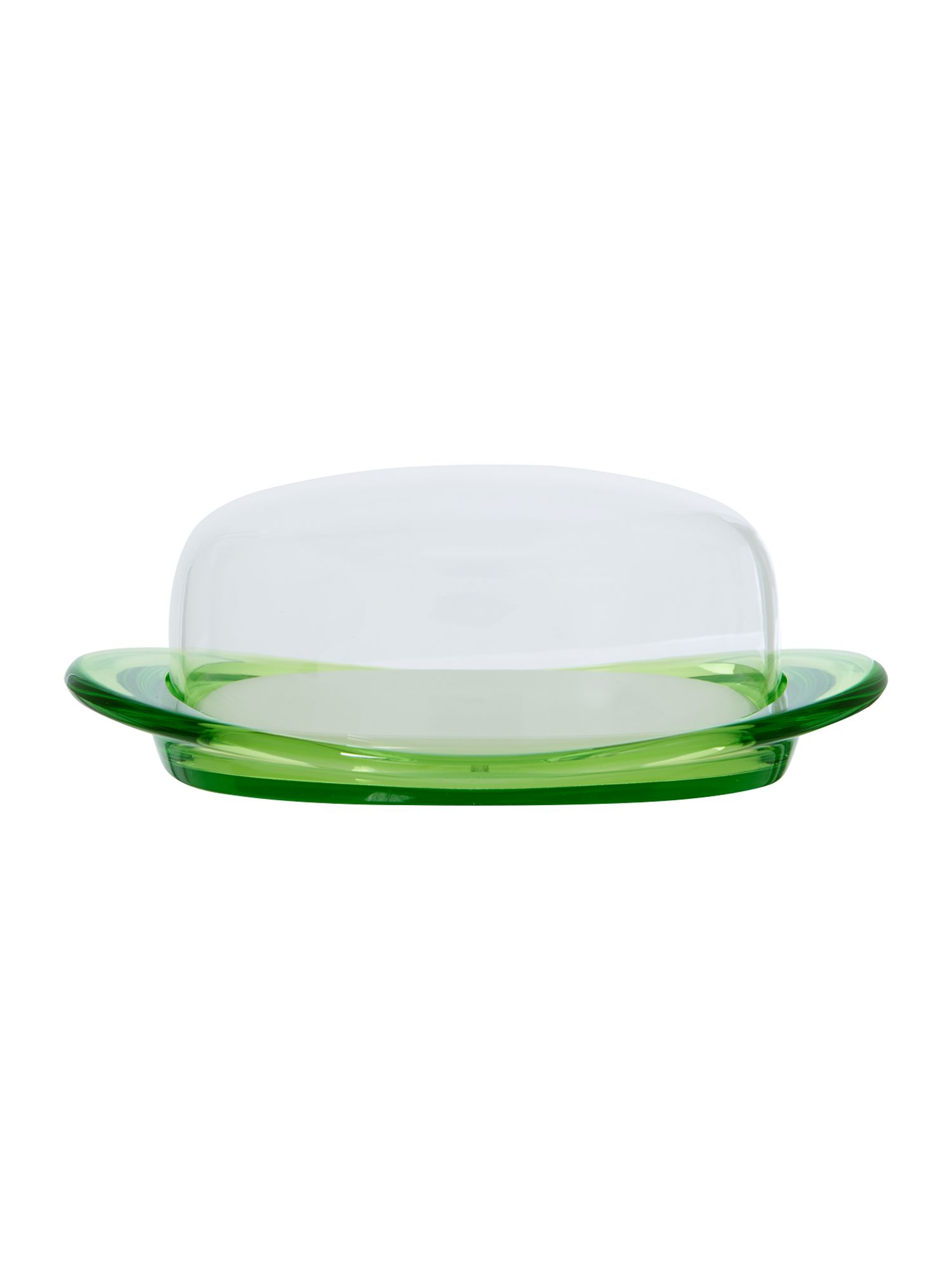 Butter Dish Feeling Green