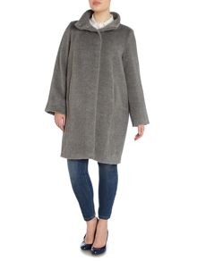 Orfeo shawl collar wool coat