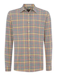 Howick Milton Check Long Sleeve Shirt