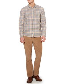 milton check long sleeve shirt