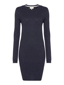 Tinsel knitted dress