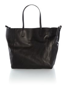 Black large tote bag