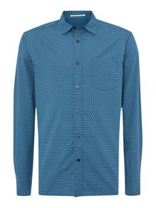 Trenton Print Long Sleeve Shirt