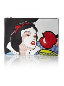 Multi coloured Snow White ©Disney clutch bag