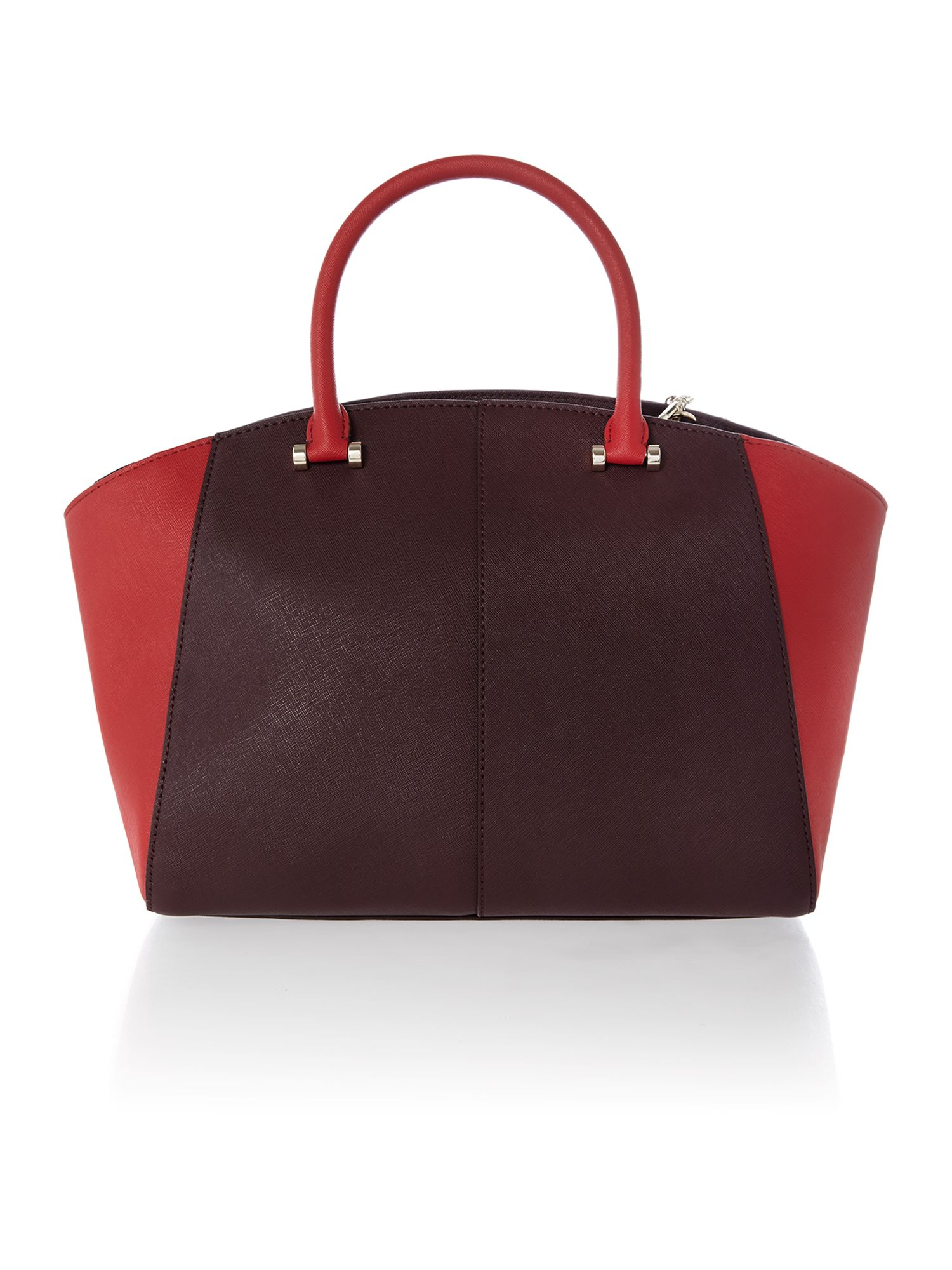 Saffiano multi-coloured large tote bag