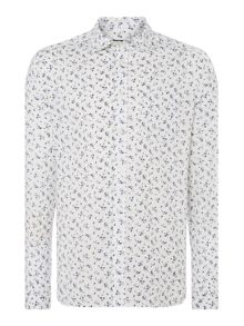 Albany Print Long Sleeve Shirt