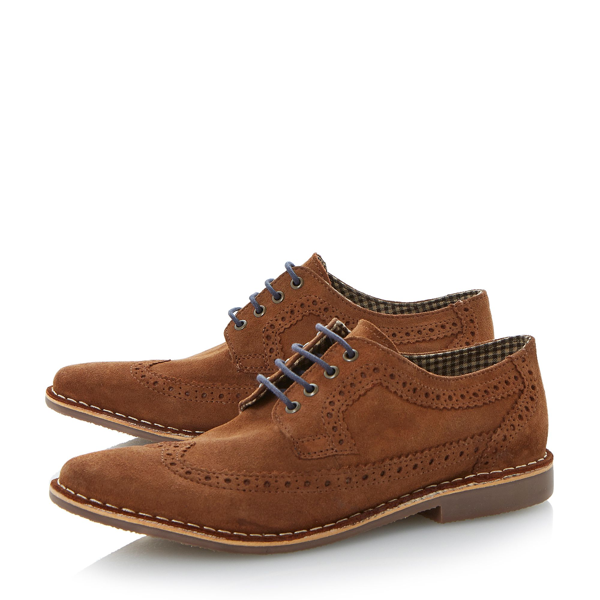 Barnsbury wingtip brogue desert shoes
