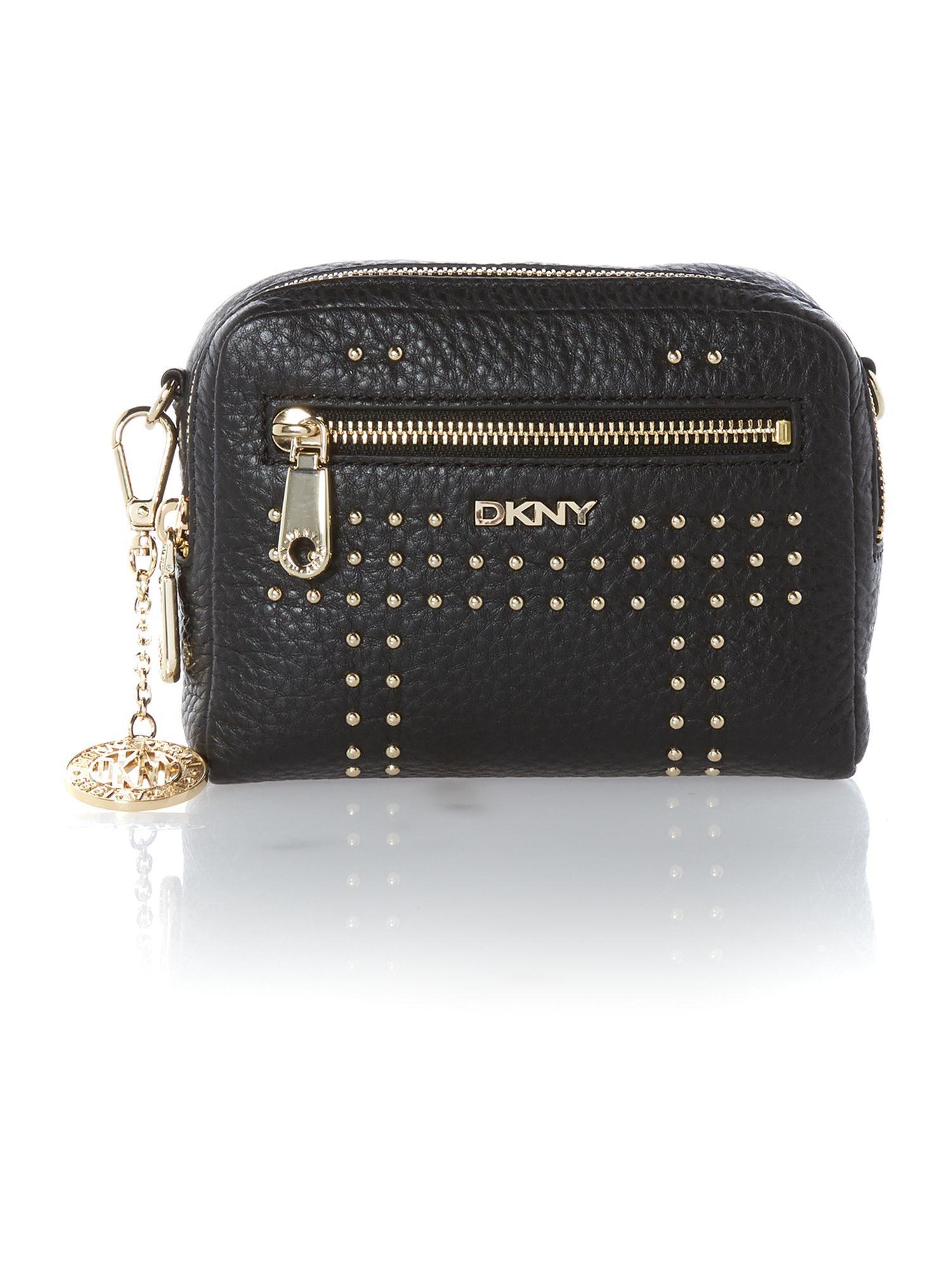 Tribeca black small cross body wristlet bag