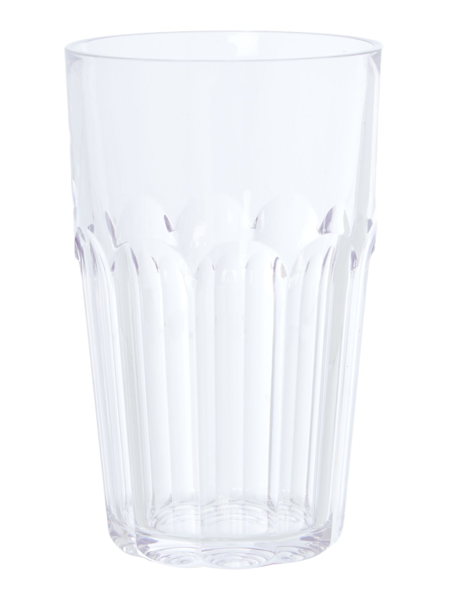 Tall Ground Tumbler Happy Hour Clear