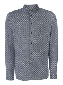 Piper Geo Printed Long Sleeved Shirt