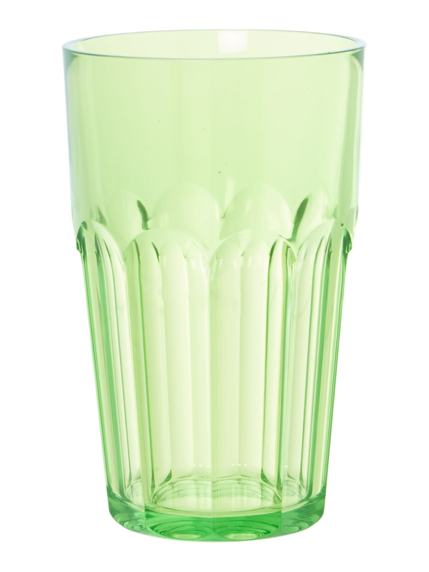 Tall Ground Tumbler Happy Hour Green