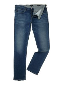 J23 slim fit mid wash jeans