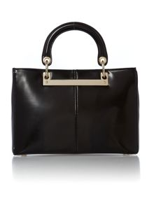 Hudson black medium tote bag