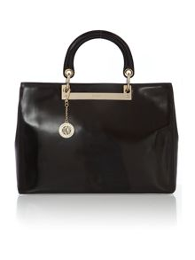 Hudson black tote bag