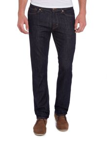 7 For All Mankind Hollywood Slimmy Slim Fit Dark Wash Jeans
