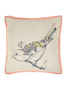Bird natural cushion