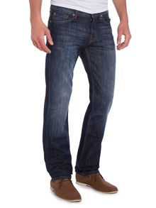 Standard New York Straight Leg Dark Wash Jeans