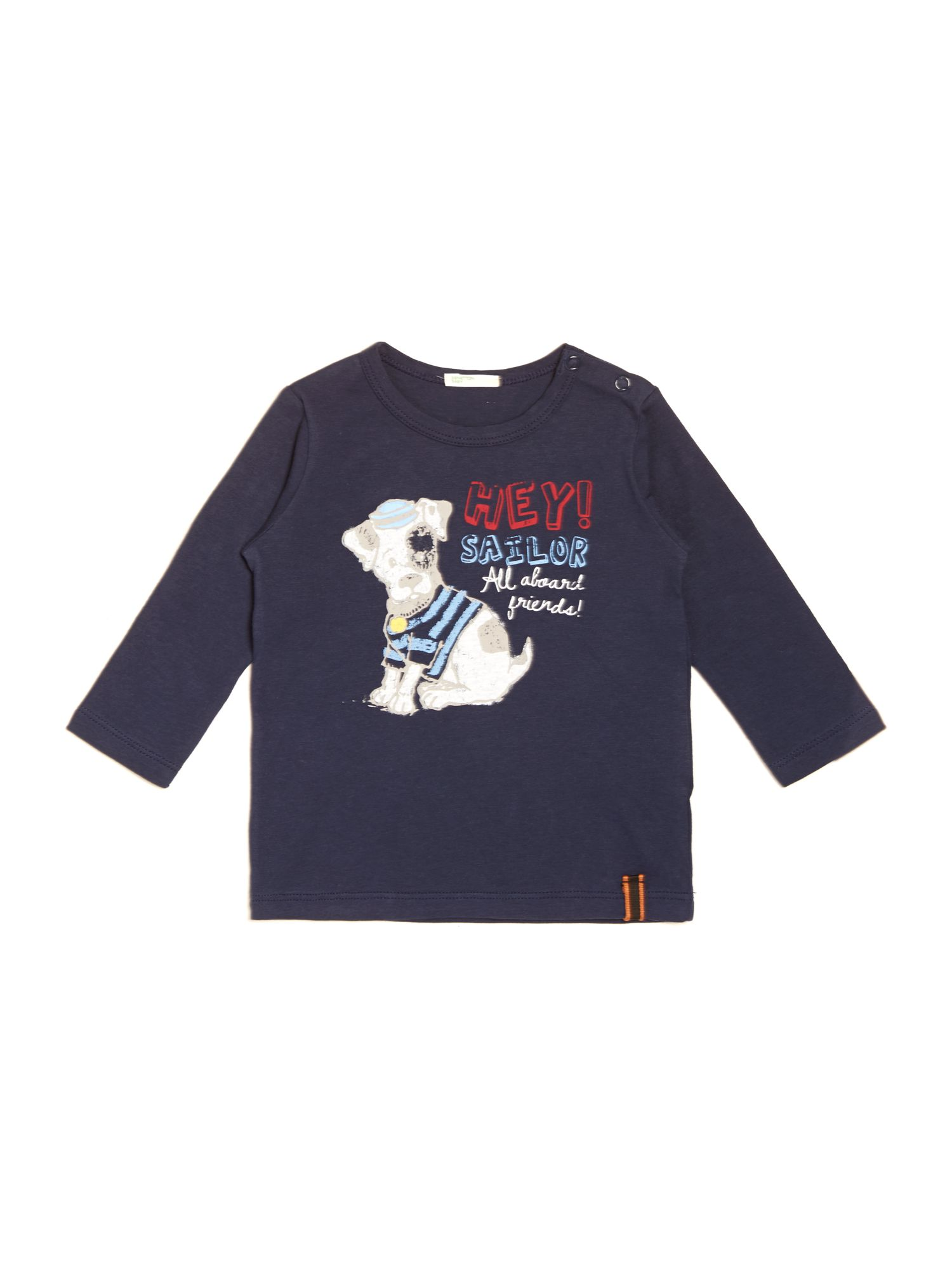 Baby boy sailor dog graphic top