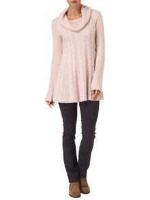 Coral cable swing jumper