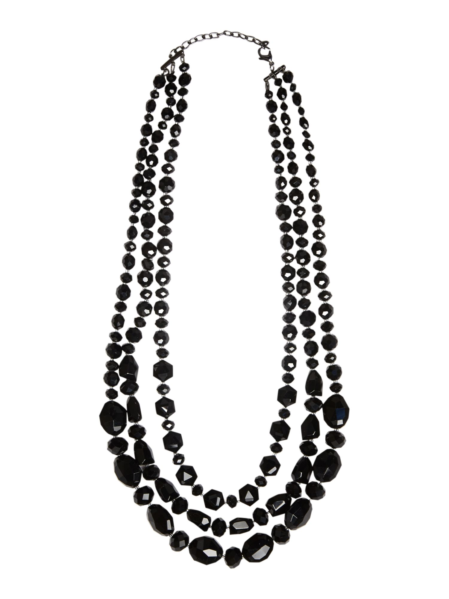 Laura multi bead necklace