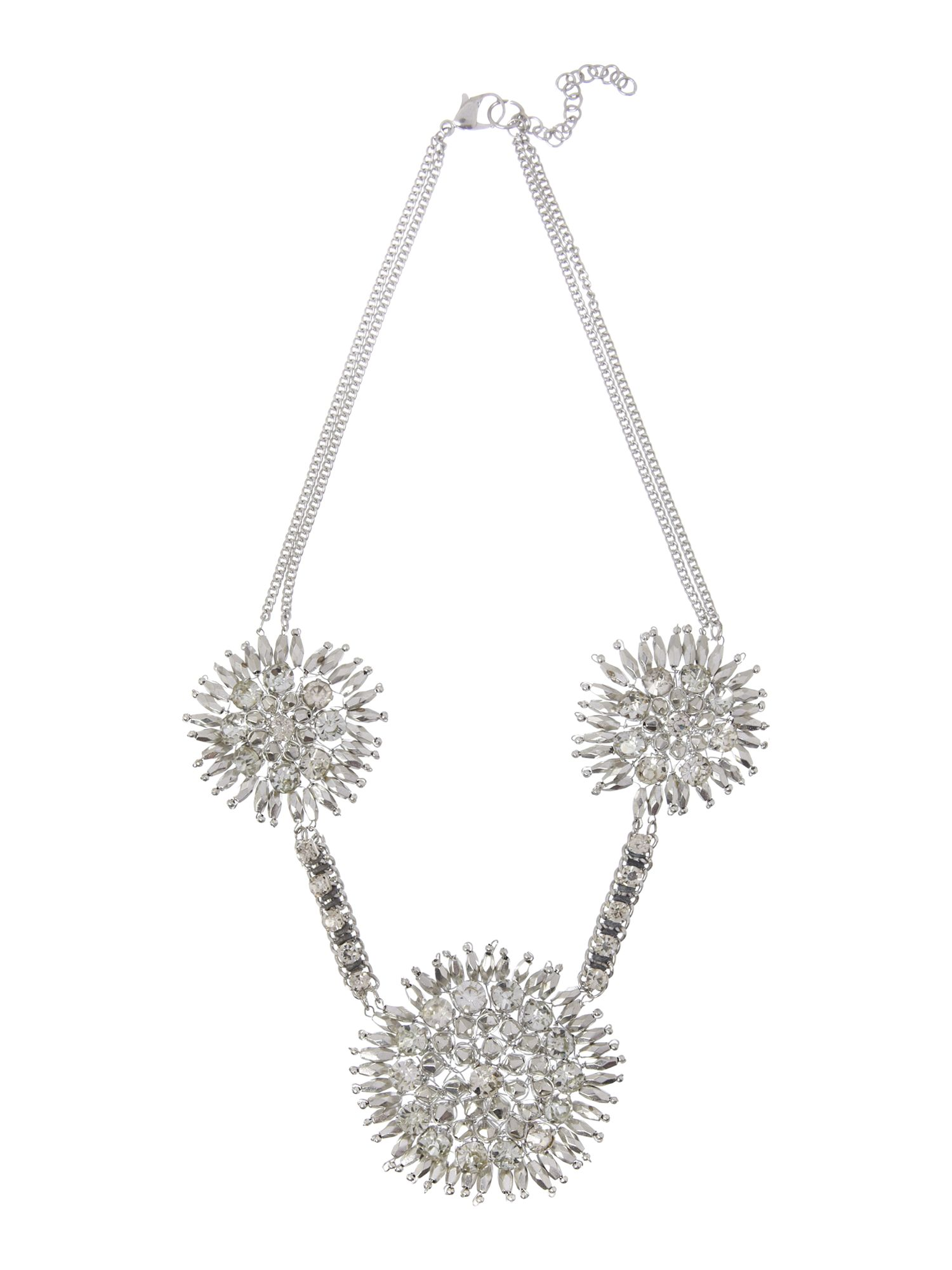 Lia three flower necklace