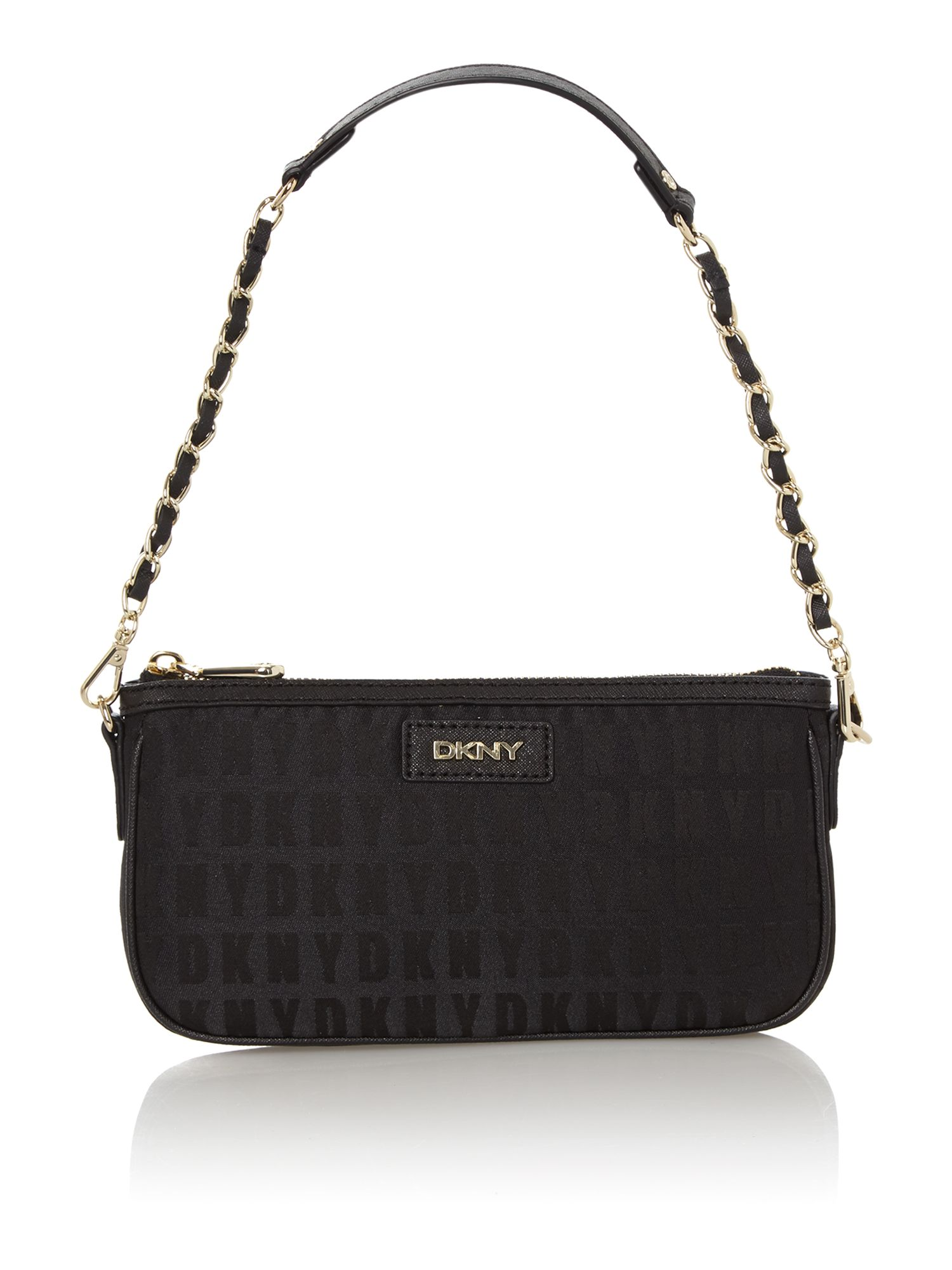 Black small chain shoulder bag