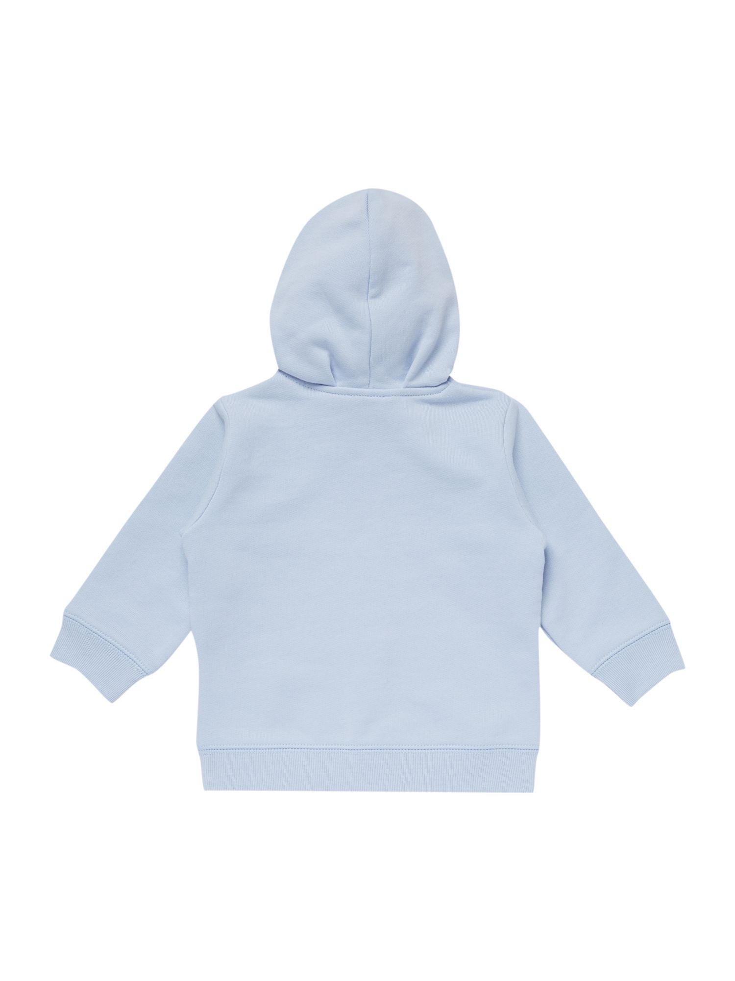 Baby boy hooded sweat top with bear ears