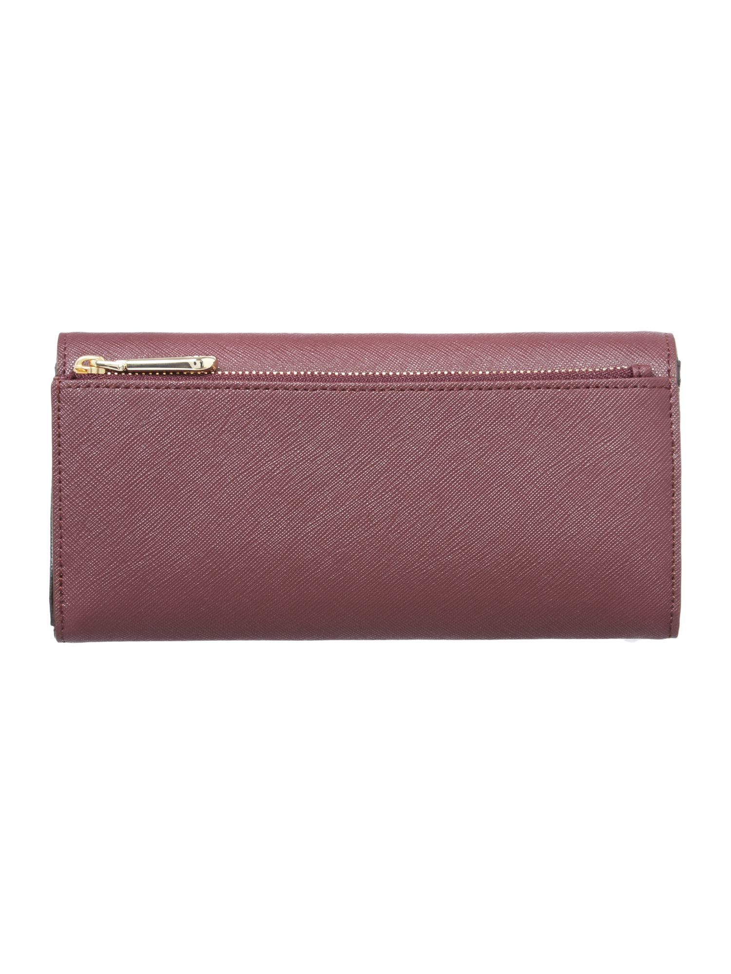 Bryant park multi-coloured large flap over purse