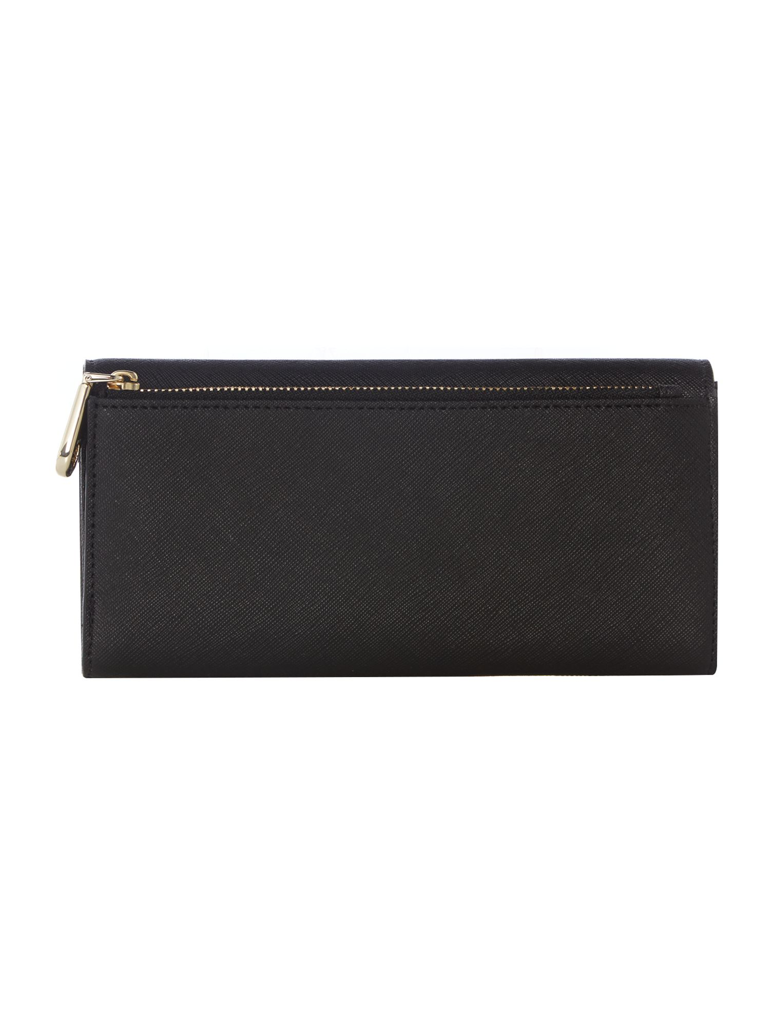 Bryant park black large flap over purse