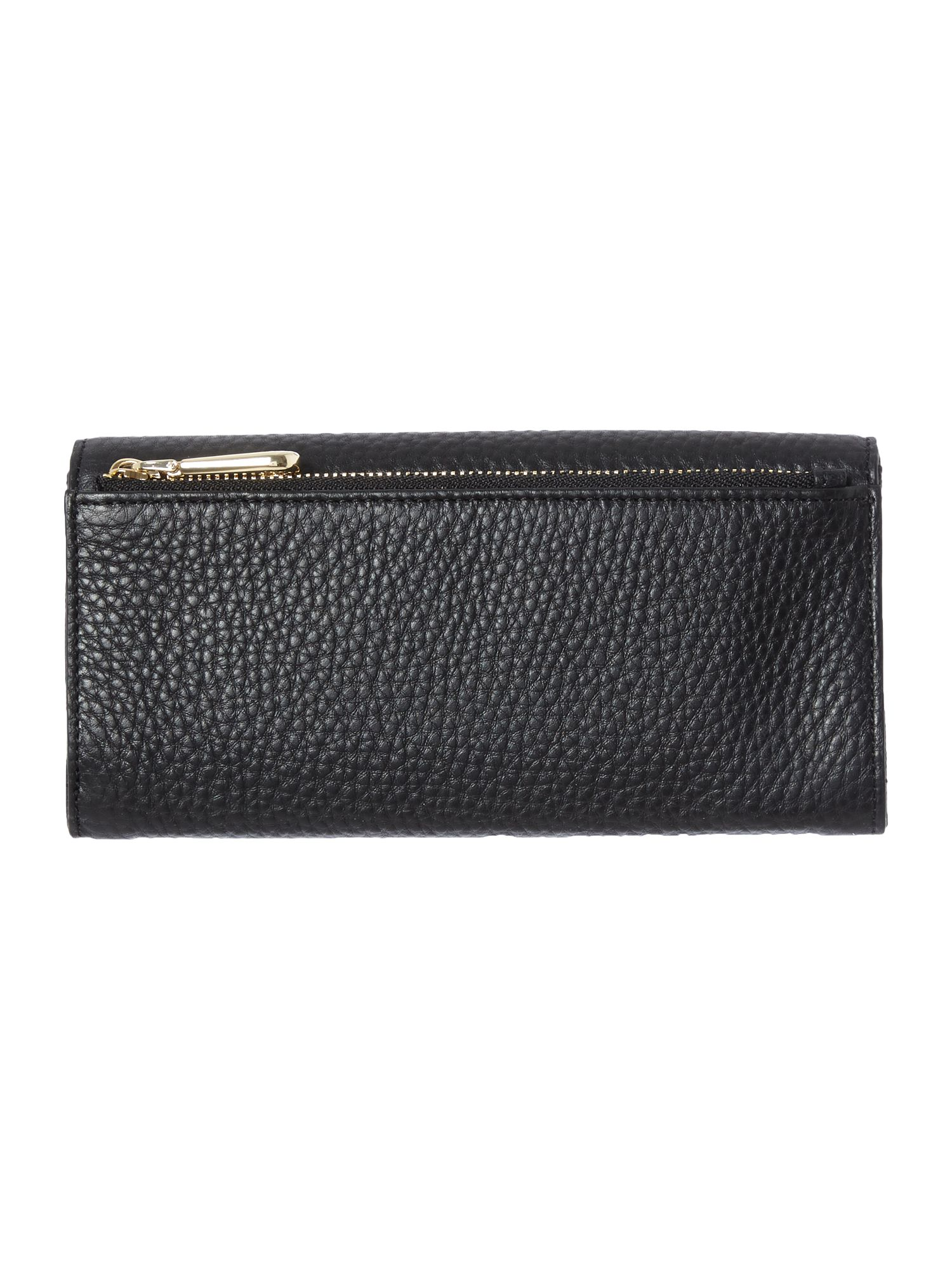 Tribeca black large flap over purse