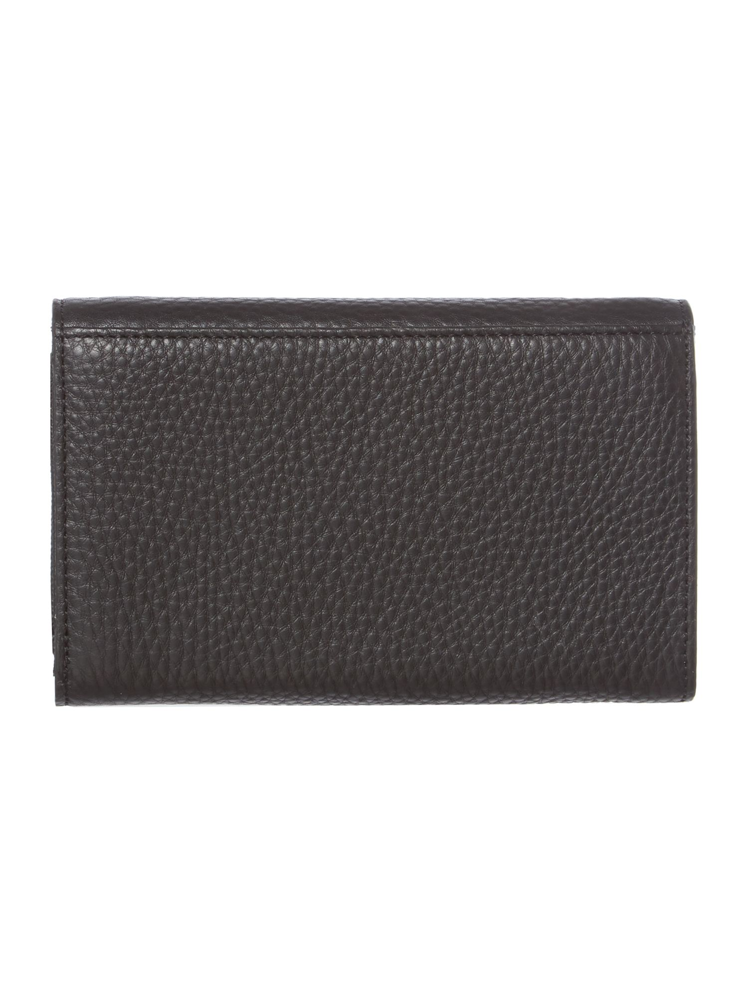 Tribeca black medium flap over purse