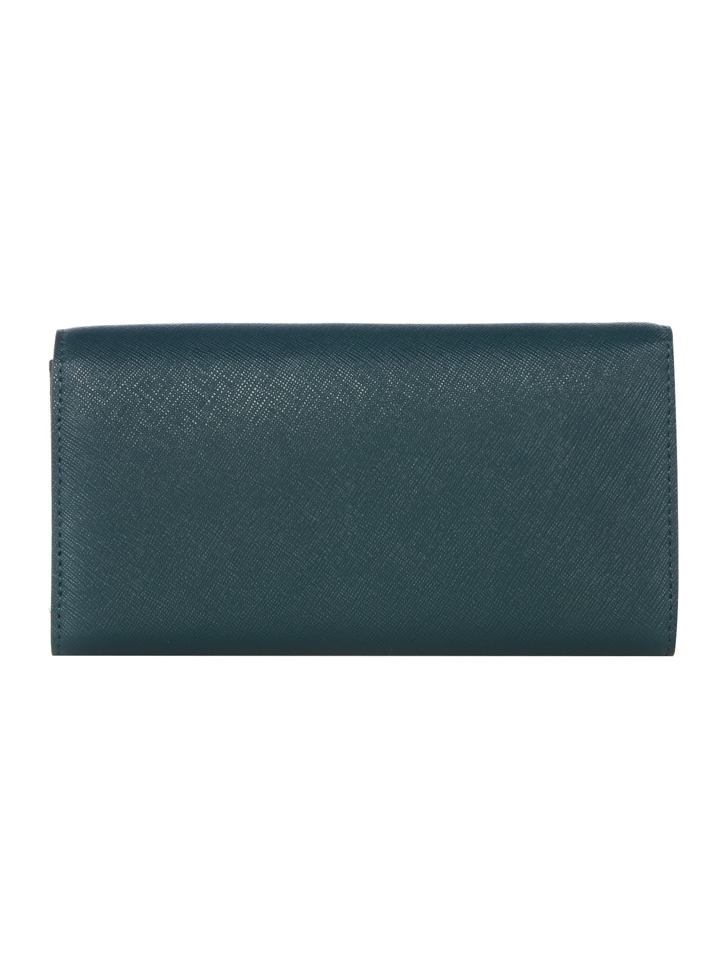 Bryant park green large envelope flap over purse