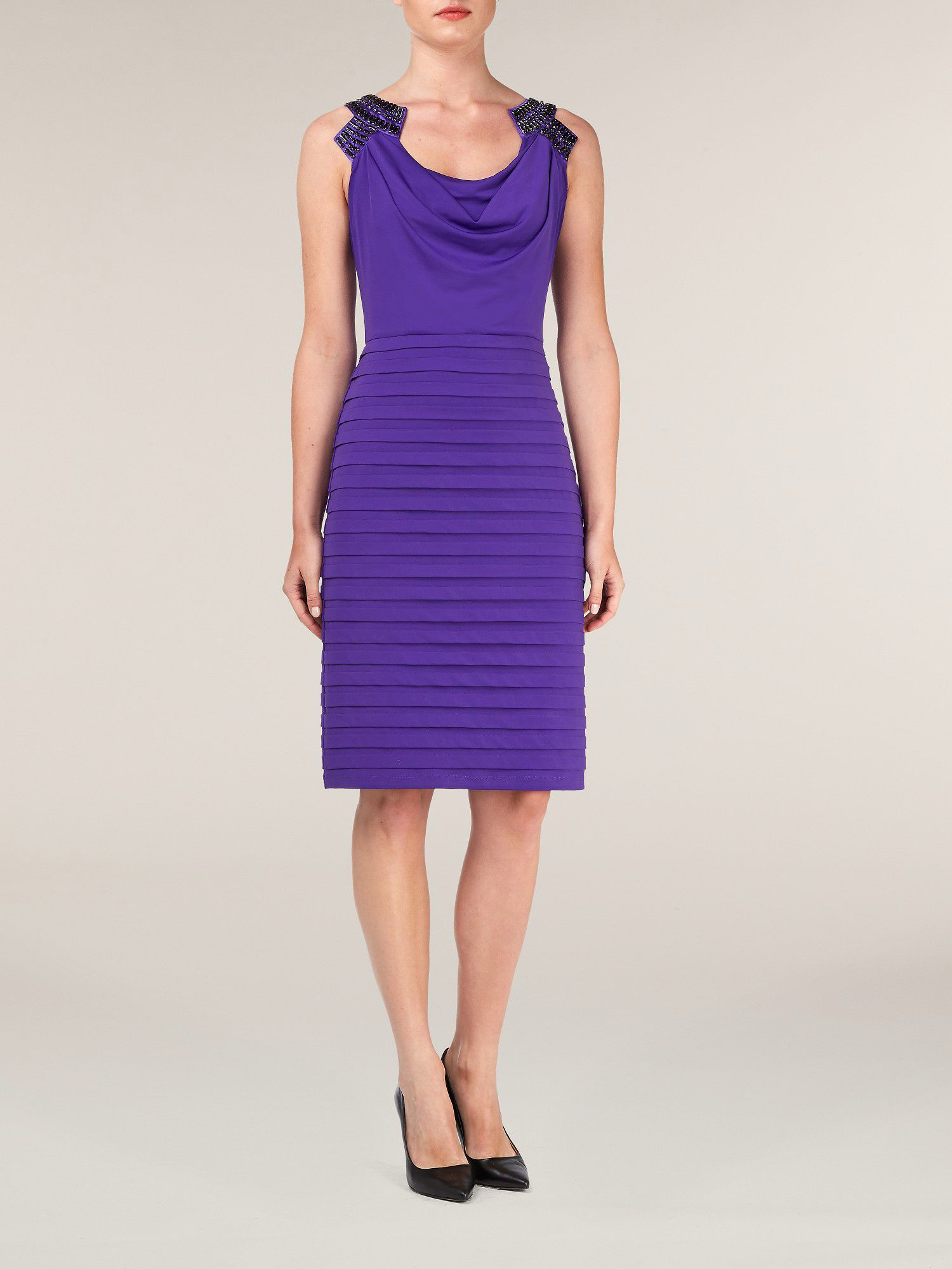 Jersey Layers Dress