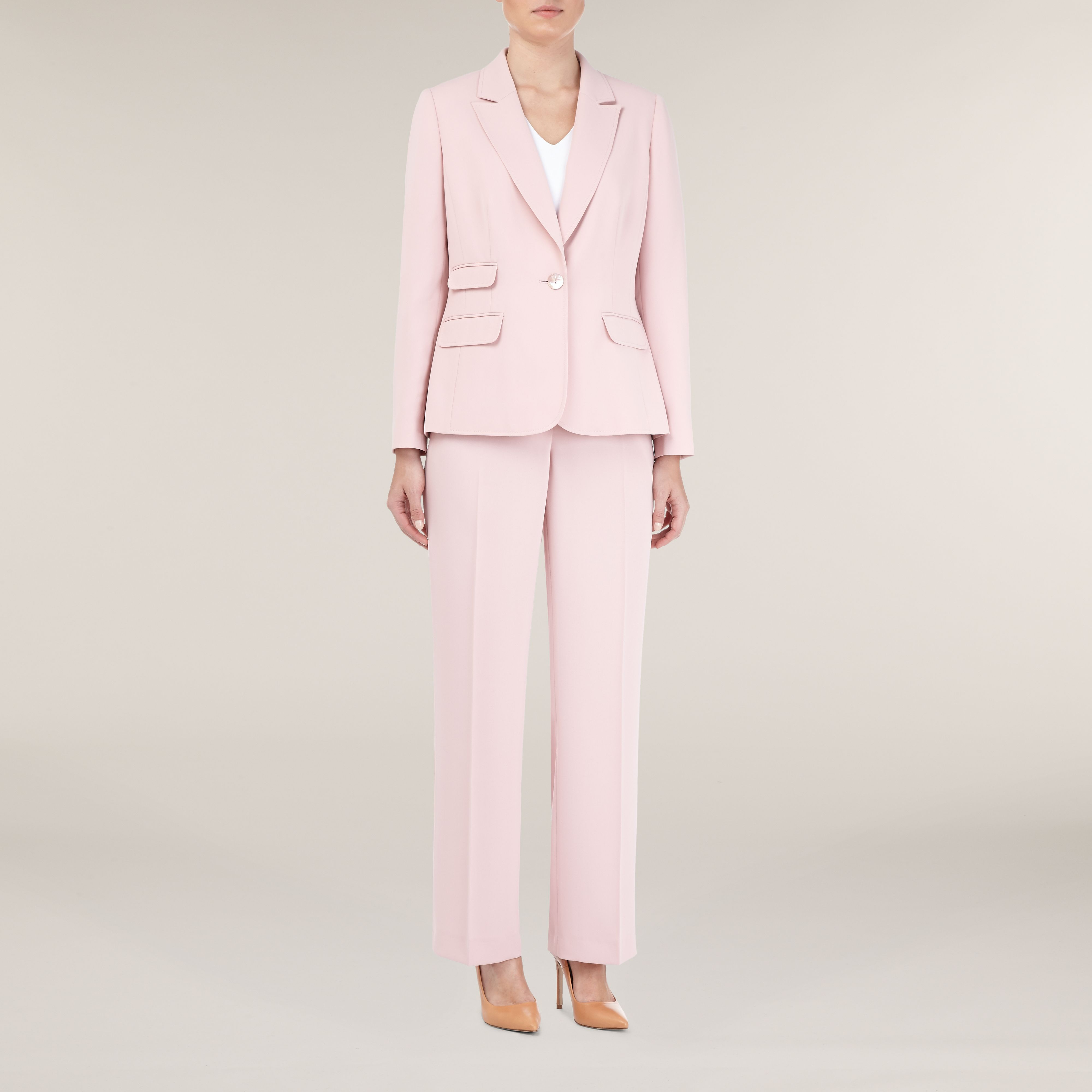 Pink Blush Tailored Jacket